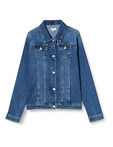 Kids Only KONSARA Med Blue DNM Jacket Giacchetto, Media Blu Denim, 158 cm Bambina
