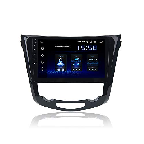 Dasaita 10.2' Android 10.0 One din Car Stereo Head Unit with 4G RAM / 64G ROM for Nissan X-Trail Qashqai Rogue 2014 2015 2016 2017 Car Radio Touch Screen GPS Navigation Support USB Bose AMP