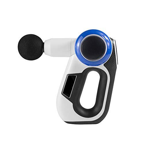 Weiming Handmassagemassagepistole, Tiefengewebemassagegerät mit 5 Massageköpfen für alle Gelenke, drehbarer Massagearm, 4 Geschwindigkeiten