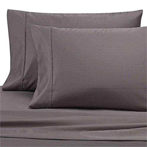 Wamsutta Dream Zone 1000-Thread-Count PimaCott Queen Sheet Set in Charcoal Grey