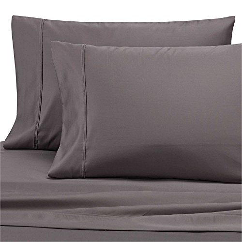 Find Bargain Wamsutta Dream Zone 1000-Thread-Count PimaCott Queen Sheet Set in Charcoal Grey