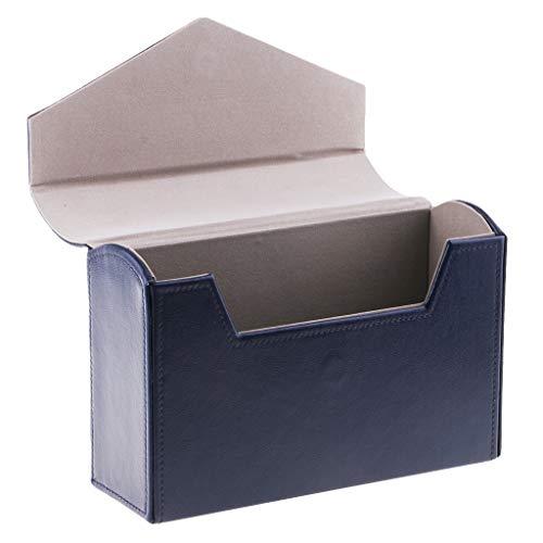 Nobranded Caja de Almacenamiento del Billete de Banco del Tenedor de La Exhibición del Dinero de Papel de La PU para Los Amantes de Celloction - Azul