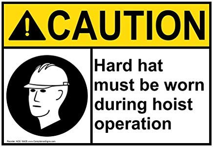 Wendana Ansi Voorzichtig Sign, Aluminium, Metalen waarschuwingsborden, Privébord, Kennisbord, 8