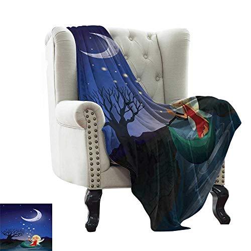 LsWOW - Manta Solar para alberca, diseño de Hada mágica, Cama y sofá