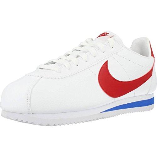 Nike Classic Cortez Leather 749571-154 Herren, Weiß, Größe: 41 EU / 41 EU