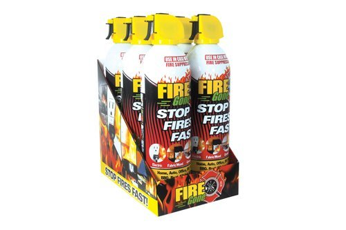 Fire Gone (FG6-067-106) Pre Loaded Countertop Display - 6 Can by Fire Gone