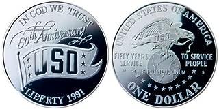 united states uso silver dollar