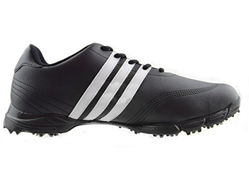 adidas Golflite Herren Golfschuhe wasserdicht (6,5 UK, schwarz)