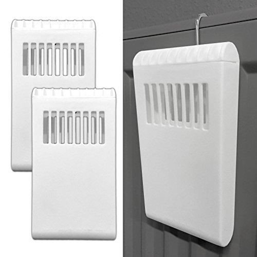 2x Heizung Wasserbehälter zum hängen Luftbefeuchter Kunststoff Wasserverdampfer
