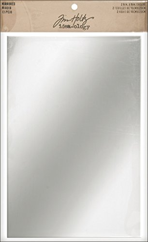 "Advantus Idea-Ology adesivo Backed specchiato fogli 6""X 9"" 2/Pkg-"