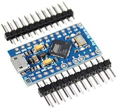 Paradisetronic.com Pro Micro Modul mit ATmega32U4, Arduino Leonardo Board ähnlich, 5V, 16MHz