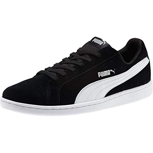 Puma Puma Unisex-Erwachsene Smashsd Sneaker, Schwarz (Black-White), 38 EU