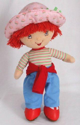 Strawberry Shortcake Plush Doll wearing Jean Outfit (18'H)