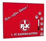 Brauns 1. FC Kaiserslautern Memoboard, rot, 18065