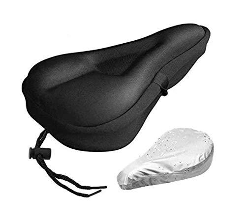 U/N Funda de gel para asiento de bicicleta, extra suave, para sillín...