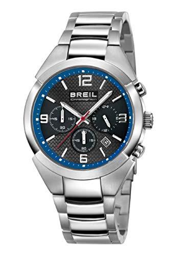 Reloj BREIL Hombre Gap Esfera Azul e Correa in Acero, Movimiento Chrono Cuarzo