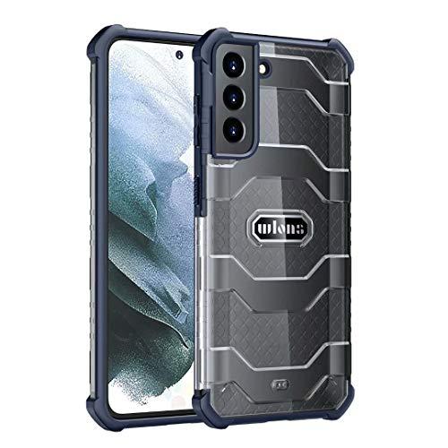 Funda para iPhone 12 Mini, 360 grados de cuerpo completo protector híbrido transparente a prueba de golpes resistente resistente a golpes Duro doble capa Armour Defender caso para iPhone 12 Mini azul