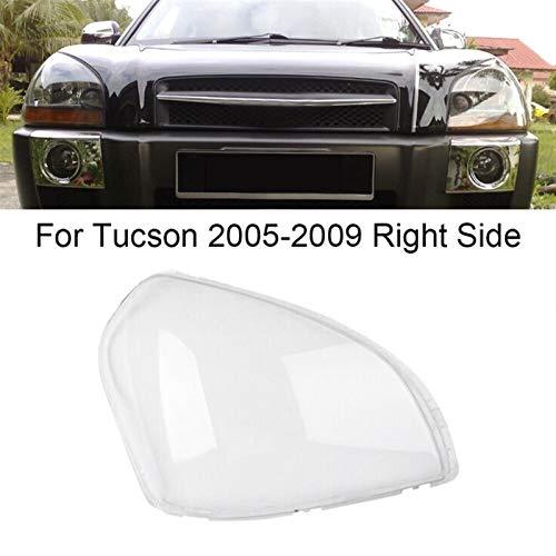 N\A Scheinwerferglas, Lampenschirm Shell Cover Auto Vordere Scheinwerfer Klares Objektivabdeckung for 2005-2009 (Farbe : As pic)
