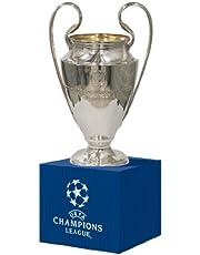 UEFA UEFA-CL-70-HP Champions League Replica Trofee 70 mm op houten voet zilver