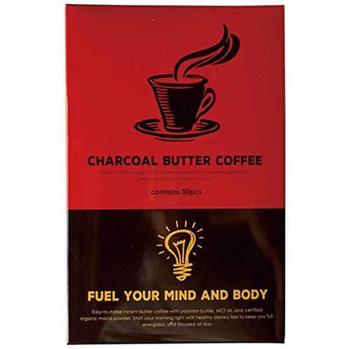 MCTオイル 配合 バターコーヒー 低糖質(1.3g×30包) ケトジェニック チャコールバターコーヒー… (スタンダード)