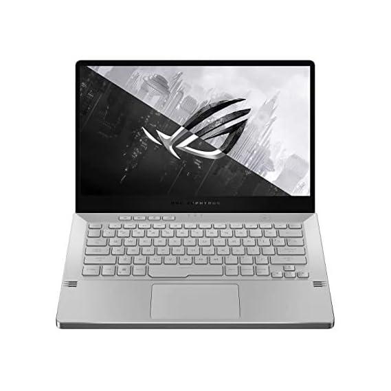 ASUS Laptop ROG Zephyrus G14 GA401II-HE233TS R5-4600HS/ GTX1650Ti-4GB/ 8G/ 512G SSD/ 14.0 FHD-120hz/ Backlit/ WIFI6/ 76Wh/ WIN10/ MSO H&S 2019/ Moonlight White/ Sleeve, Rog Eye Clip Webcam