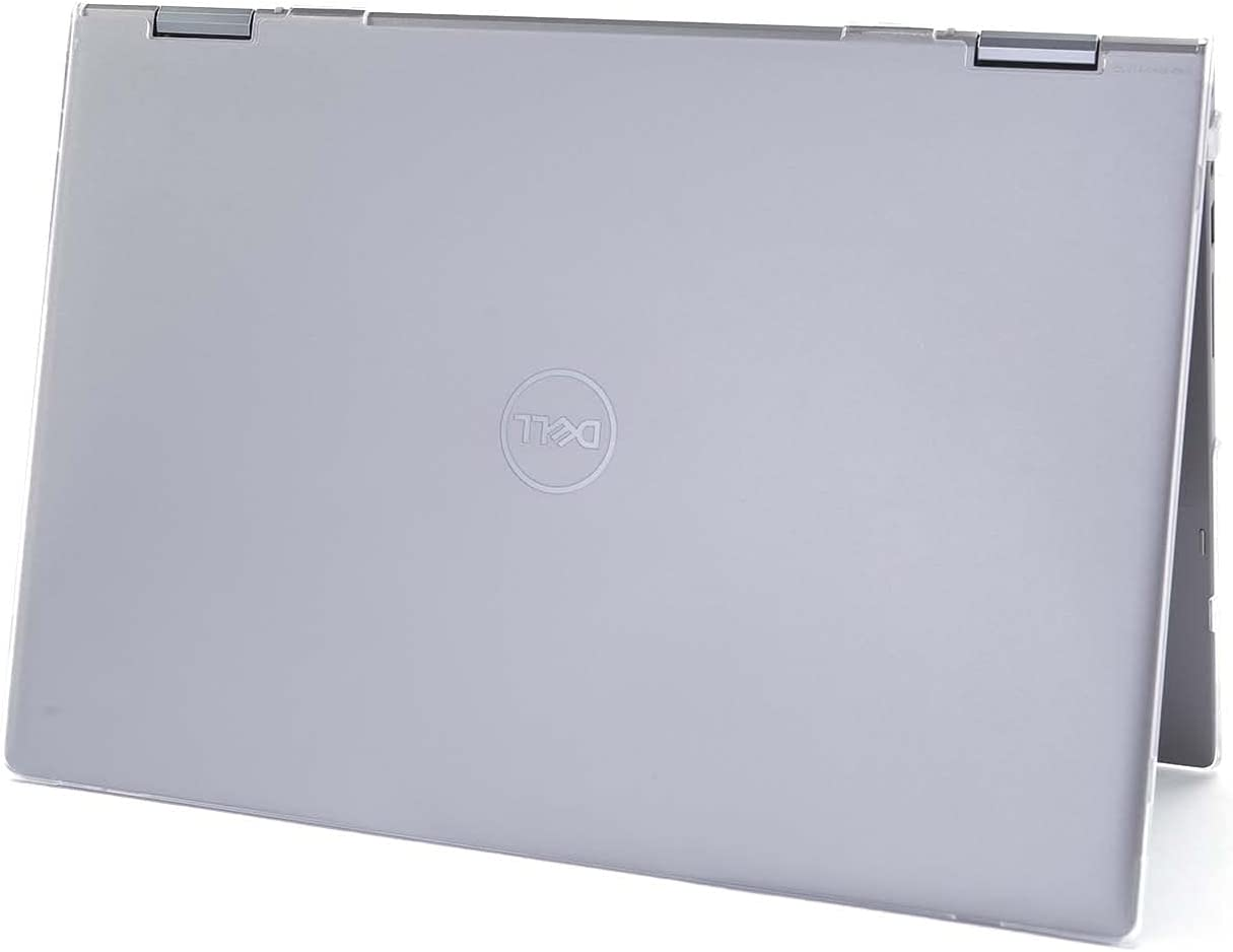 mCover Hard Shell Case Compatible with 2021 14-inch Dell Inspiron 14 5406 2-in-1 (NOT Fitting Other Dell Models ) Convertible Laptop Computers (Clear)