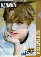 SEVENTEEN(セブンティーン) VERNON バーノン 버논 B A4 クリアファイル 韓国 ap03