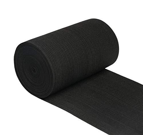 Xw craft Sangle élastique en tricot extensible pour couture et travaux manuels - 10 cm de large - 2,7 m