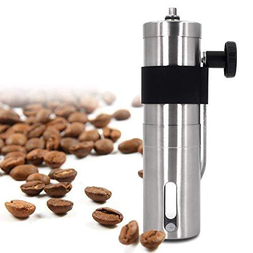 YLLN Macinacaffè Manuale, macinacaffè per macinacaffè Regolabile a Mano Ruvida con sbavatura conica in Ceramica Regolabile, Fresa per caffè a manovella per Acciaio Inossidabile