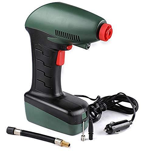 Wangt automatische luchtcompressor, digitaal, 12 V, draagbaar, elektrische pomp voor auto, fiets, autobanden