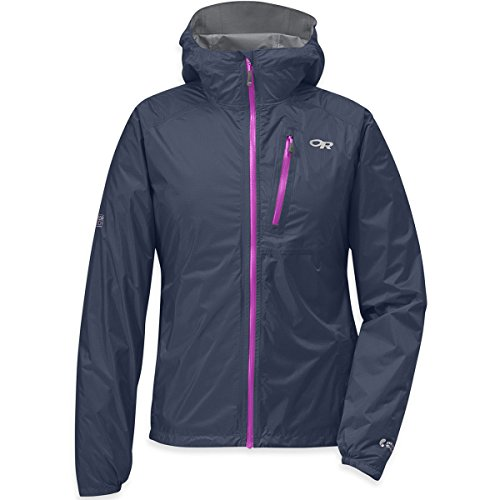 Outdoor Research Women's Helium II Jacket, Night/Ultraviolet, Medium