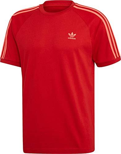 Adidas 3-Stripes Tee Scarlet S