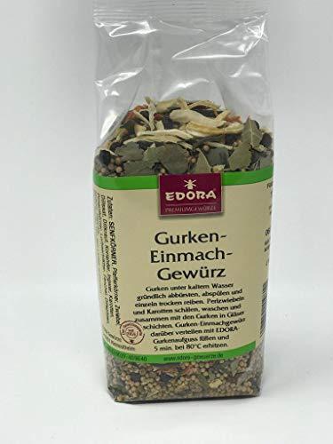Premium Qualität Gewürz EDORA Beutel Tüte Gurken Einmach Gewürzmischung einmachen 175 Gramm