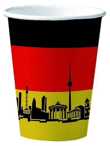 10 Pappbecher Deutschland / Berlin