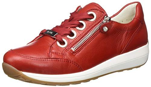 ara Damen OSAKA Sneaker, Rot 10), 40 EU