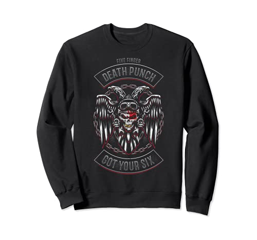 5FDP - Biker Badge - Got Your Six Sweatshirt