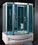 Baño Italia cabina hidromasaje con bañera 150 x 90 cm...
