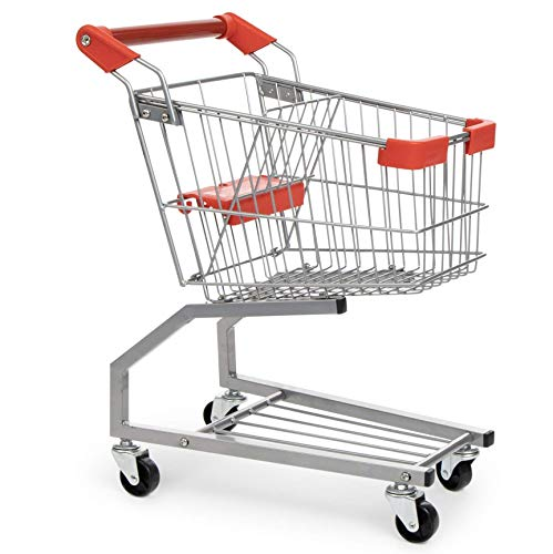 Milliard Toy Shopping Cart for Kids, Toddler Shopping Cart Toy