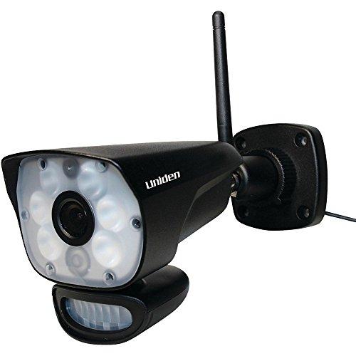 Uniden Guardian LightCam 35 HD Standalone Wi-Fi Camera with Programmable Spotlight