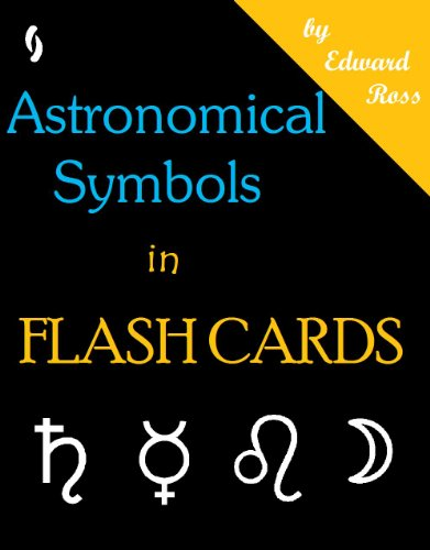 Astronomical Symbols Flash Cards (English Edition)