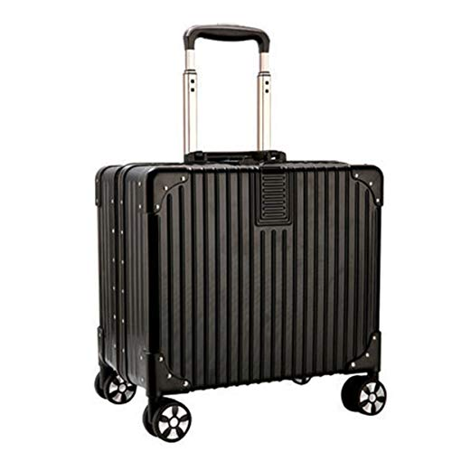 Trunk ABS+PC Aluminium Frame Trolley Case, Mini koffer Kleine mannen en vrouwen koffer Universele Wiel Boarding Case, 16 Inch Trolley Case