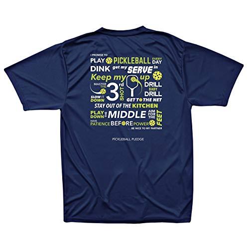 Men's Pickleball Pledge Performance T-Shirt