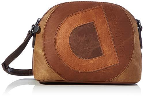 Desigual Accessories PU Across Body Bag, Donna, Marrone, U