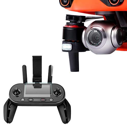 GoolRC Compatible con Autel EVO II 8K RC Drone Cámara Lente Protector Controlador Remoto Protector de Pantalla 9H Vidrio Templado de Alta Dureza 2 Juegos