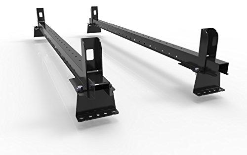 Renault Tráfico (2001–2013)–2Van rieles de techo accesorio de barras–con end-stops y todos los accesorios.–autorack easybars