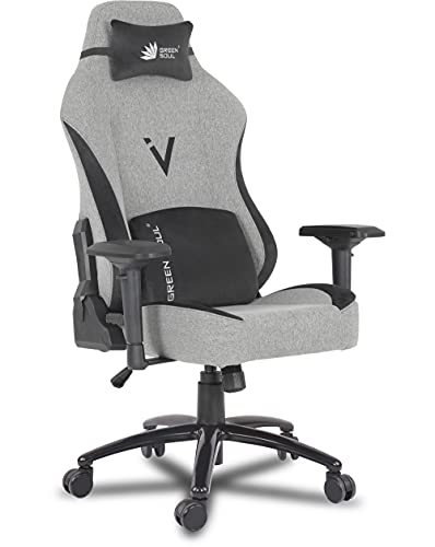Green Soul® Vision Multi-Functional Ergonomic & Gaming Chair in Fabric (GS-399) (Earth)