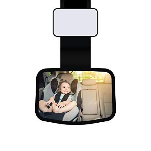 Specchietto retrovisore auto Bimbo / animale domestico / cane / gatto / per taxisti /, Specchietto con supporto universale per tutte le vetture.