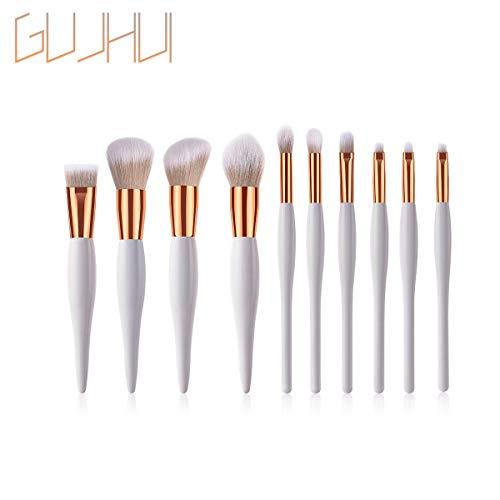 Professionnel Pinceau Maquillages WINJIN Lot de 10 Brosses de maquillage Premium Pinceaux de Maquillage Cosmétique Outils de beauté pour Fond de Teint,Poudre libre,Blush, fard à paupières,Kabuki