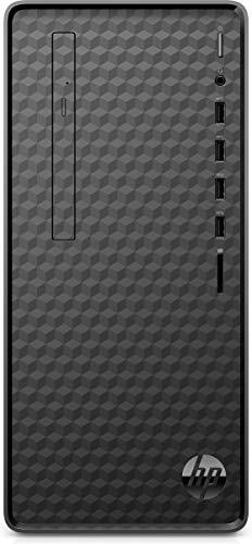 HP M01-F1010ng - Ordenador de sobremesa (Intel Core i3-10100, 8 GB DDR4 RAM, 512 GB SSD, Intel Graphik, Windows 10), color negro