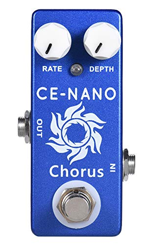 YMUZE MOSKY Mini CE-NANO Chorus Effect Pedal Creating Some Fresh and Extensive Chorus Effects